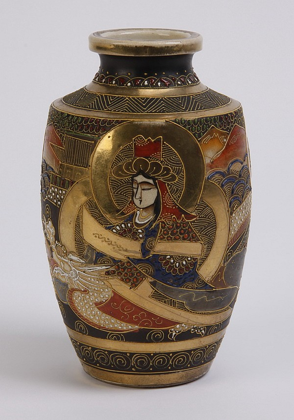 20th c. Japanese Satsuma vase