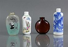 4 div. Snuff-Bottles