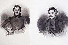 Max von Chezy (1808-1846), Portraits, ensemble de
