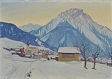 Ludwig Werlen (1884-1928)    Village ennei