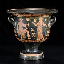 Cratère, Apulie, cercle du peintre de Baltimore, c