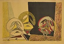 Max Ernst (1891-1976)    Masques africains