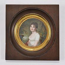 Pierre-Louis Bouvier (1765-1836), Catherine de Luze née de Mandrot,  Genève