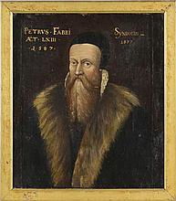 Portraitiste genevois Portraits de syndics de la famille Fabri: Pierre Fabr