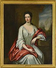 Ecole dans le goût du XVIIe s. vers 1900  Portrait de dame de qualité