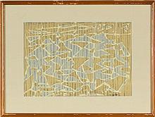 Arnold Neuweiler (1895-1983) dit Julien Dinou Compositions abstraites en ve