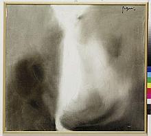 Luciano Gaspari (1913-2007)  Visione  huile sur toile, 1957 54x60 cm Peintr