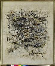 Pirro Cuniberti (1923)  Paesaggio  huile sur toile, 1957 60x50 cm