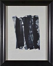 Hans Hartung (1904-1989) L. 1974-22 lithographie, HC signée,  imp. Erker-Pr