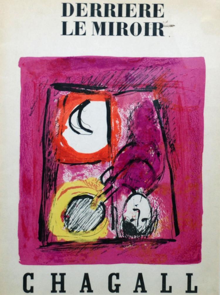 Marc chagall derriere le miroir chagall 99 100 cover for Chagall derriere le miroir