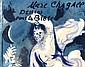[ Books ] Chagall Marc 1887 - 1985 F Book. Marc Chagall. Dessins pour la Bible. Verve Vol. X, No. 37/38 With 23 original lithographs and 24 originial lithographs printed in colors. Cover also original lithograph. Paris, Edition de la revue Verve,