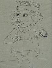 ANDRE DERAIN Signed Drawing Fauvism French Art
