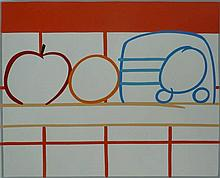 TOM WESSELMANN Hand Signed Silkscreen American Pop Art 1991
