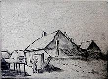 LESSER URY Hand Signed Etching 1919 German Impressionism Berlin