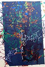 JEAN-PAUL RIOPELLE Hand Signed Lithograph Canadian Abstract expressionism 1968