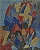 SEVERINI Hand Signed Lithograph 1962 Italian Futurism Cubism, Gino Severini, $3,700