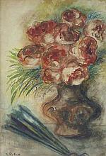 ISSACHAR RYBACK Watercolour Painting Russian Jewish
