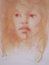 LEONOR FINI Hand Signed Lithograph French