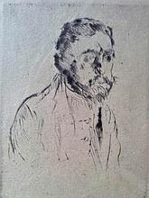 LOVIS CORINTH H.Signed RARE Etching German Expressionism 1920