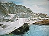 CHRISTO Hand Signed Photograph Wrapped Coast 1969 Little Bay Australia
