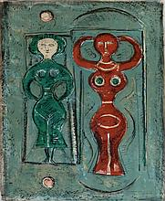 MASSIMO CAMPIGLI Hand Signed Lithograph Italian Art 1965