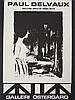 PAUL DELVAUX Lithograph Belgian Art
