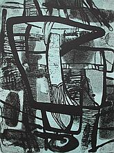 MAURICE ESTEVE Litho French Abstract