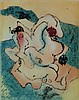 DOROTHEA TANNING 10 Hand Signed Etchings Surrealism American Art, Dorothea Tanning, $3,000