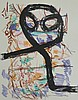 JEAN-PAUL RIOPELLE Hand Signed Lithograph Canadian Abstract expressionism 1972, Jean-Paul Riopelle, $750