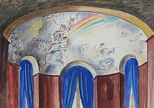 JOZSEF BATO Pastel Hungarian Art