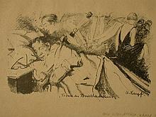 ARTHUR KAMPF Lithograph German Art 1928