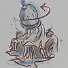 CLAES OLDENBURG Hand Signed Lithograph American Pop Art 1995, Claes Thure Oldenburg, $2,400