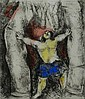 MARC CHAGALL    Hand Signed Etching    Samson