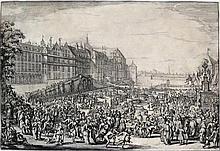 (Cérémonie) - [ HOOGHE, Romeyn de (1645-1708)].- La Joyeuse Entrée de Léopo