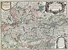 (Hainaut) - 23 cartes. Gravures sur cuivre, formats divers. Par Gérard Merc