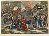 (École française) - BOURDON, Sébastien (1616-1671).- La Libération des capt, Sebastien Bourdon, €200