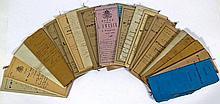 (Belgique, Archivalia) - +/- 160 lettres ou documents des barons de Rosen,
