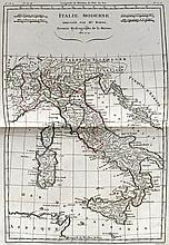 (Atlas, Monde) - BONNE, [Rigobert].- Atlas portatif, ou recueil de cartes c