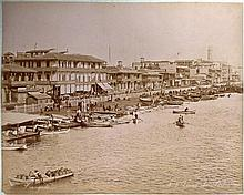 (Asie & Égypte) - 23 photos. [Circa 1900] PHOTOGRAPHIES ORIGINALES, tirages