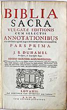 Bible - Biblia sacra. Vulgatae editionis cum selec