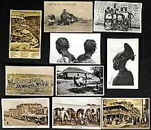 Carte postale, Afrique - 84 cartes postales (plusi