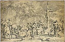 École italienne - ROSA, Salvator (1615-1673).- La