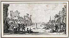 École française - CALLOT, Jacques (1592-1635).- Le