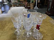 Royal Brierley Crystal glasses set of 8