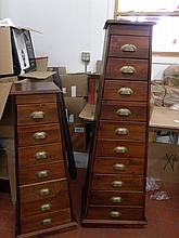 A set of 2 Pier One Imports Tower dressers