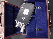 Kodak K-100 Turret 16MM Camera with Hard Case