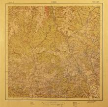 Sinaia - harta a sta?iunii ?i împrejurimilor / Sinaia - a resort map