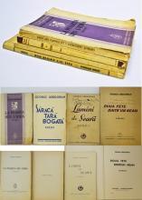 Gregorian  George  Patru volume de versuri din perioada interbelicã / 4 poems volumes published in 1934 to 1941