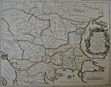 Sanson Nicolas Illyricum orientis / Illyricum orientis - map