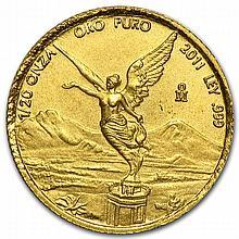 2011 1/20 oz Mexican Gold Libertad (Brilliant Uncirculated)